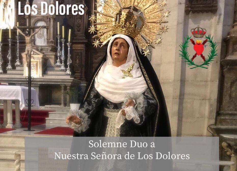 Solemne Duo a Nuestra Señora de Los Dolores