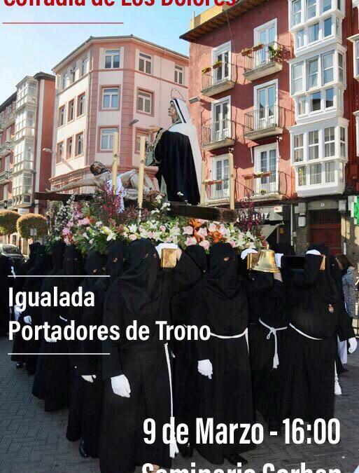 Igualada Portadores de Trono.