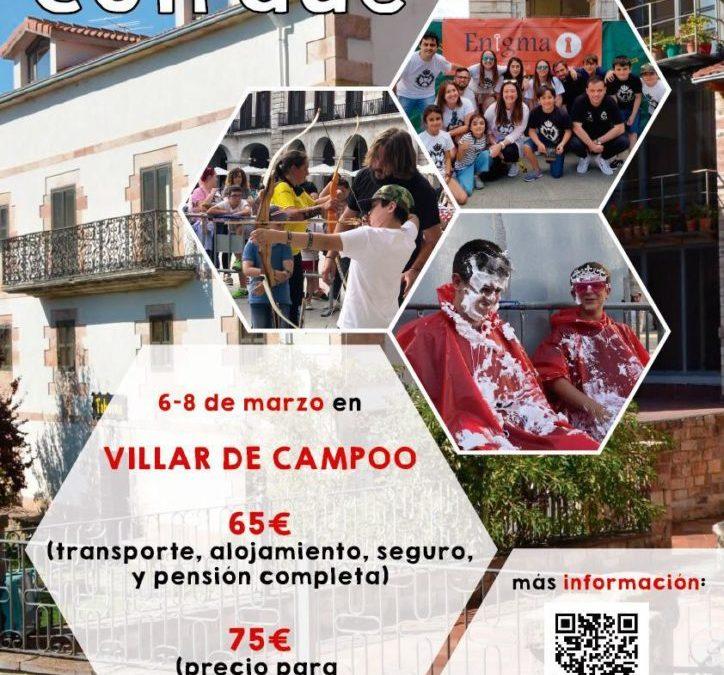 Convivencia en Villar de Campoo 6 – 8 Marzo 2020