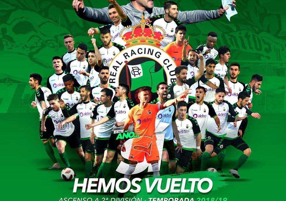 Felicitación Real Racing Club.
